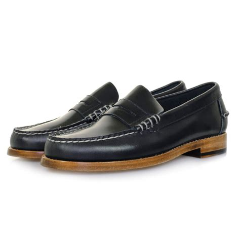 footwear loafers sebago uk legacy navy loafer shoe