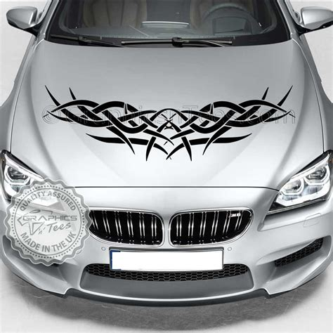 tribal car tattoo car bonnet decals driverlayer search engine