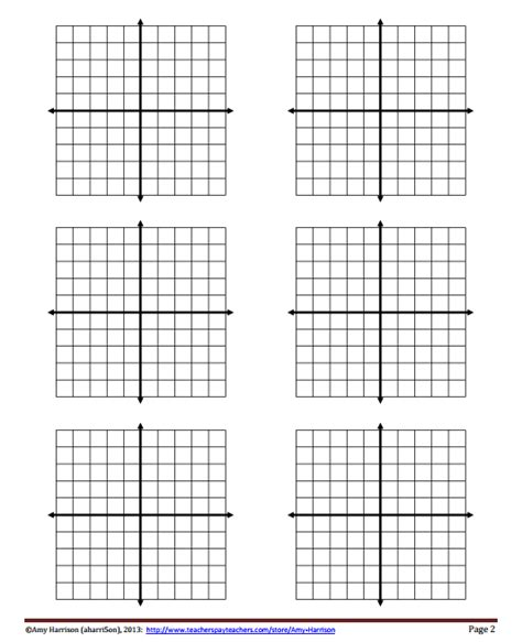 printable xy graph blank coordinate planes reproducible my math resources