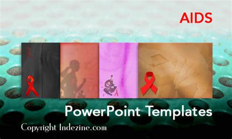 aids template aids powerpoint templates