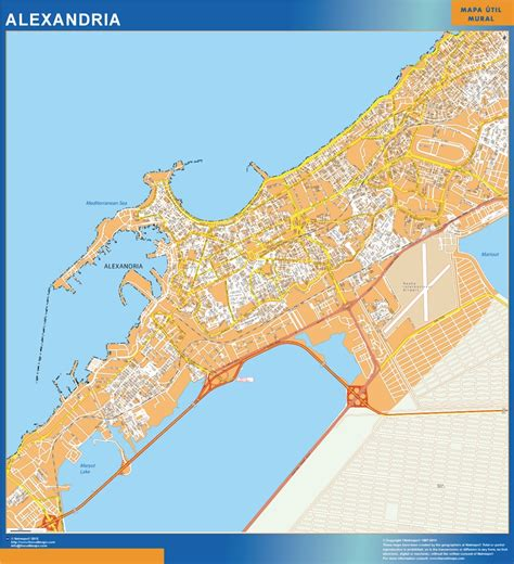 alexandria map our alexandria wall map wall maps mapmakers