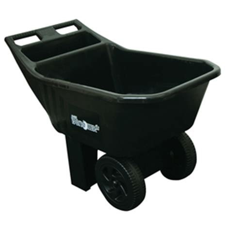 Ames Garden Cart Home Depot by Shop Ames 3 Cu Ft Poly Yard Cart At Lowes