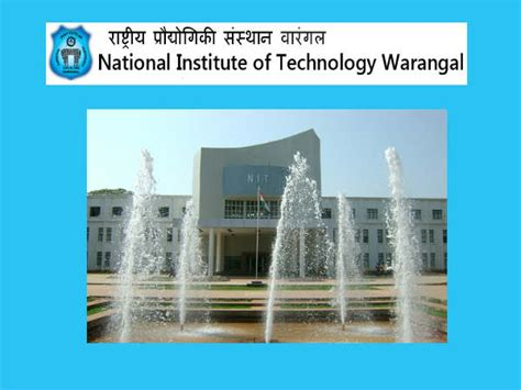 Columbia Institute Of Technology Mba Application Deadline by Guest Lecture Series At Nit Warangal Find Details Here