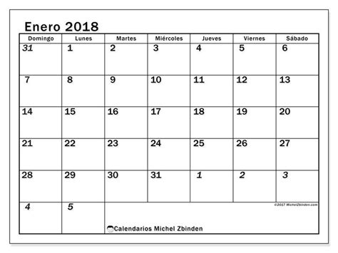 Calendario R Gratis Calendarios Para Enero 2018 Para Imprimir