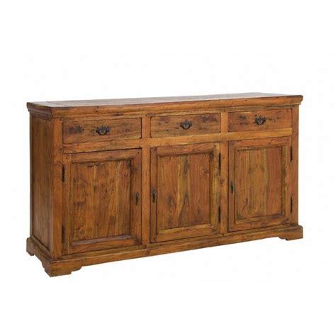 credenza legno massello credenza chateaux legno massello acacia 160 x 50 x 90 h cm