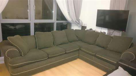 large corner sofa sale large corner sofa bed very comfortable good condition for