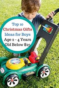top 10 christmas gifts for 2 4 years old boys under 25