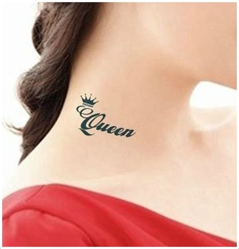 queen tattoo writing 32 queen tattoo images pictures and design ideas
