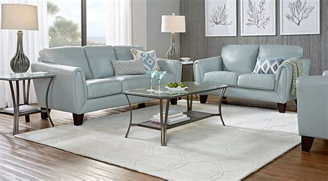 living room leather livorno aqua leather 3 pc living room leather living