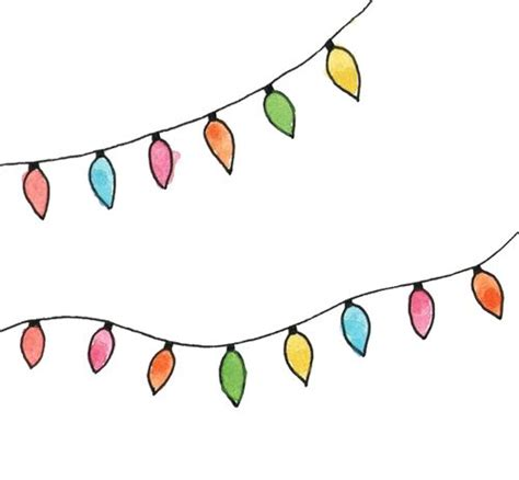christmas lights clipart tumblr clipground