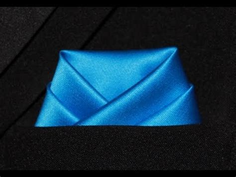 Scallop Fold how to fold a pocket square scallop fold