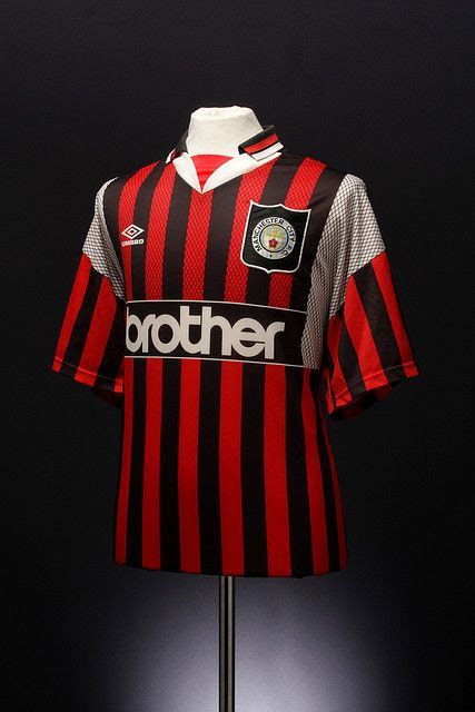 Jersey Retro Mu Away 1996 manchester city football shirt away 1994 1996