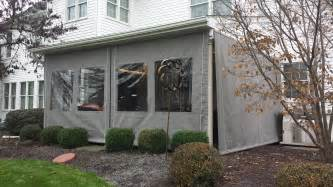 Deck Tarp Awning Porch Enclosure Clear Vinyl Drop Curtains Lancaster Pa