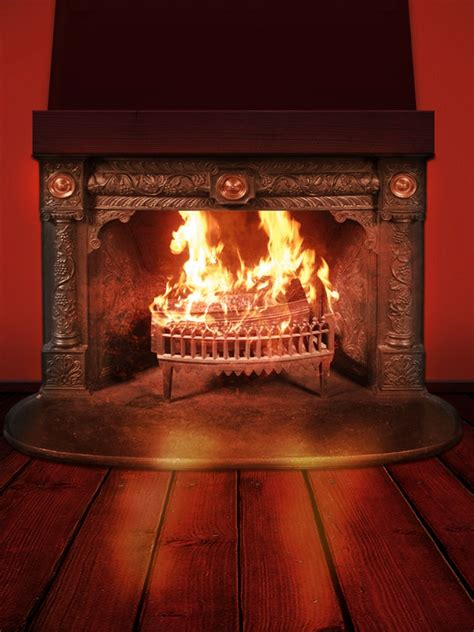 fireplace background wallpaper freechristmaswallpapersnet