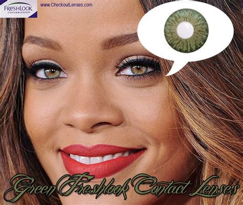 real looking colored contacts how to get the same looking as rihanna checkout