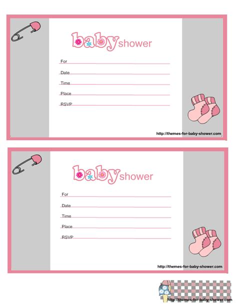 Downloadable Baby Shower Invitations by Free Printable Baby Shower Invitations For Quotes