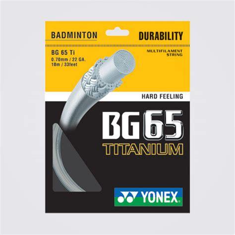 Senar Badminton String Badminton Bg 66 Yonex bg65 titanium
