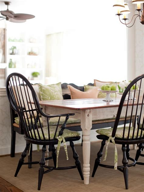 white farmhouse table and chairs this country dining setting features a farmhouse table