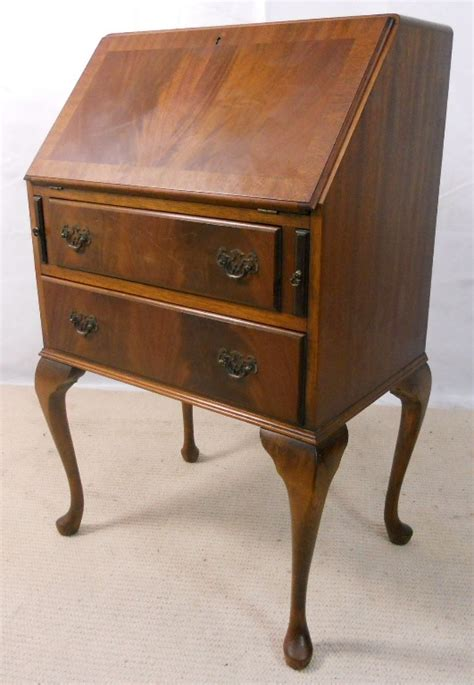 small ladies writing desk small ladies mahogany writing bureau desk sold