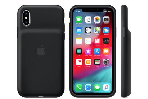 iphone xs xr smart battery cases go official with qi charging support phonearena