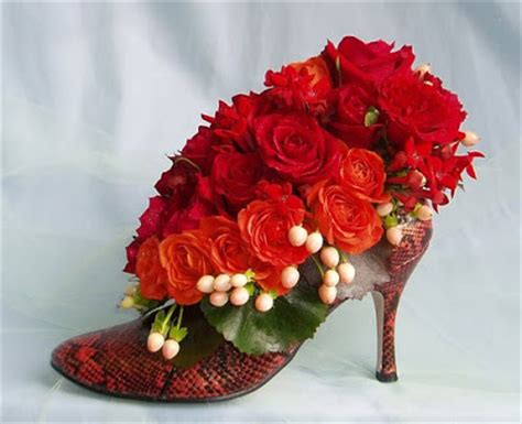 Flower Shoes by Artistry In Bloom S Funky Flower Shoes