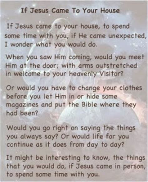 house you came to me everyday evangelism
