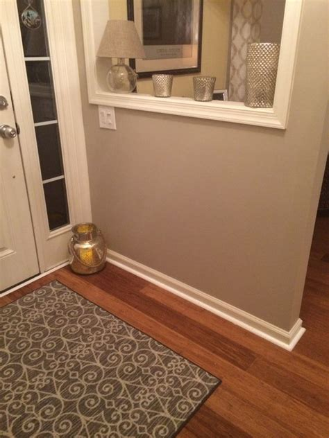 small entry foyer painted with lyndhurst gallery beige gorgeous neutral color with shades of