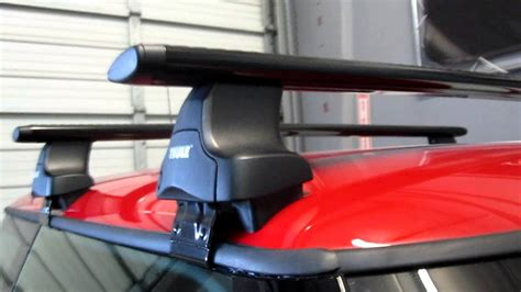 Roof Rack For Mini Cooper S by 2012 Mini Cooper S With Thule 480r Traverse Black