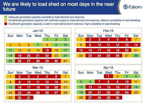Load Shedding South Africa by When Load Shedding Hits This Is What It Will Look Like
