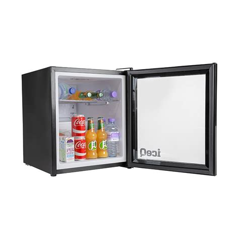 glass door drinks fridge iceq 49 litre drinks glass door fridge black small