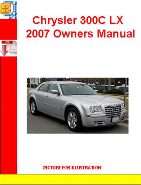 service manual pdf 2007 chrysler 300 service manual 2007 chrysler 300 owners manual set 07 chrysler 300c lx 2007 owners manual download manuals technical