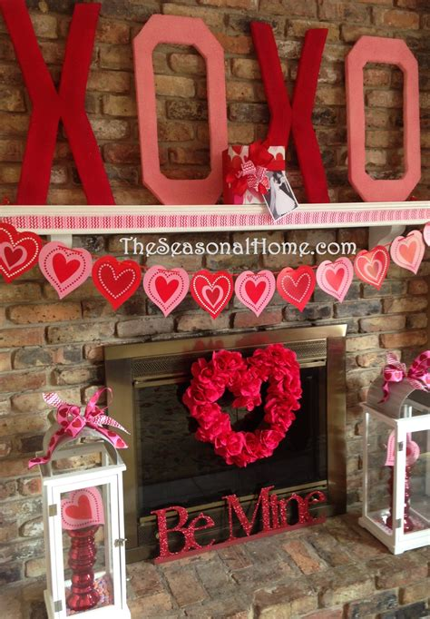 valentine decorations to make at home valentine kisses hugs d i y decor gift idea 171 the