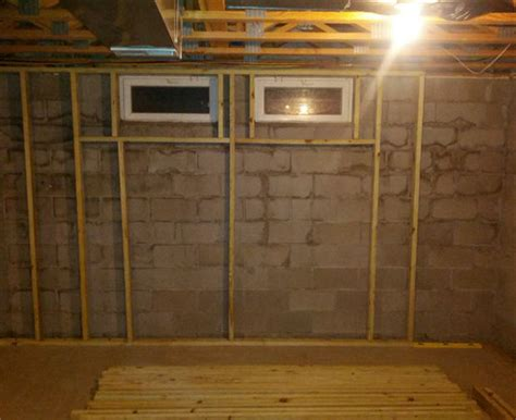 Great Basement Idea Angled Basement Windows Framing Basement Windows