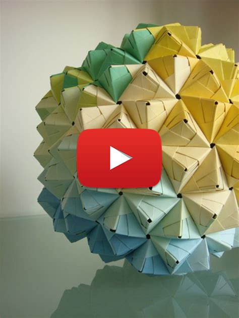 Origami Sphere Easy - cool origami 2018