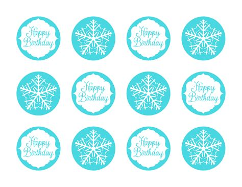 free printable crown cupcake toppers frozen party ideas with free printables