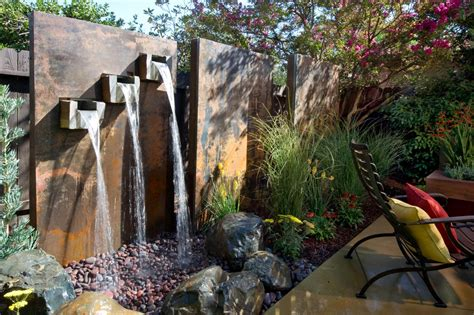 backyard features yard crashers water feature wonderland yard crashers diy