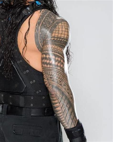 roman reigns tattoo collection of 25 reigns