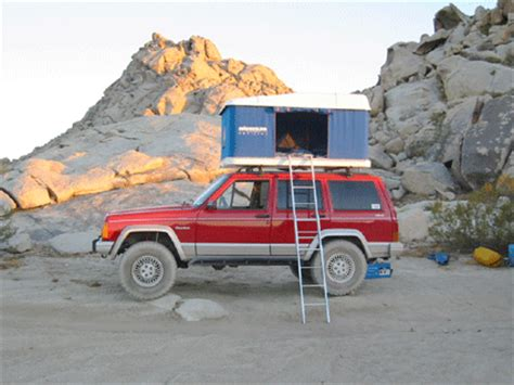 Jeep Xj Roof Top Tent Maggiolina Roof Top Tent On Jeep Jeep Xj Mods N