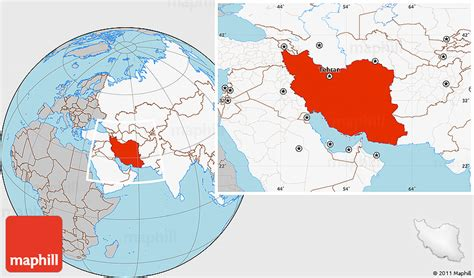 location of iran on world map where is iran on the world map