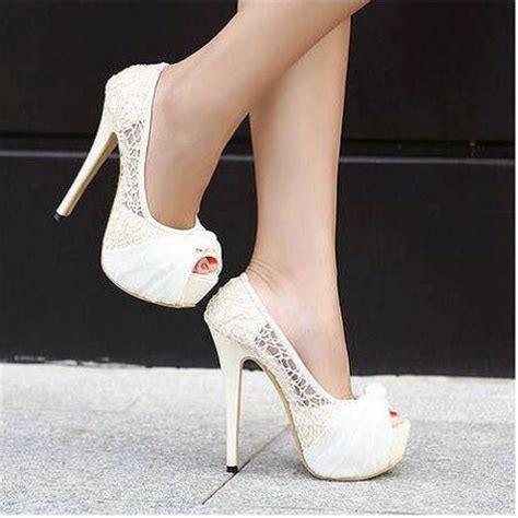 White Bridal Heels by Wearing Heels On Your Wedding Day Yes Or No Ottawa