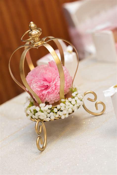 princess themed centerpiece ideas kara s ideas gold pink royal princess birthday kara s ideas