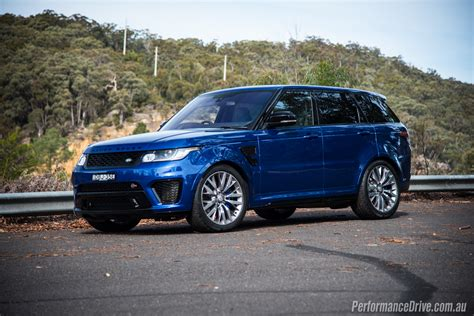 2016 Range Rover Sport Svr Review Performancedrive