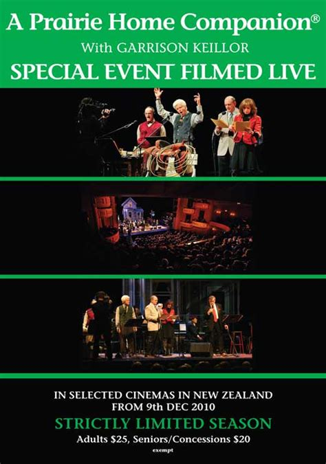 a prairie home companion live in hd posters from