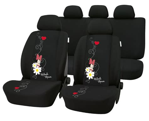 mickey and minnie seat covers minnie mouse 8 complete car truck