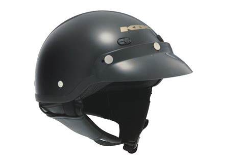 Helm Kbc Half Kbc Tk410 Half Helmet Black
