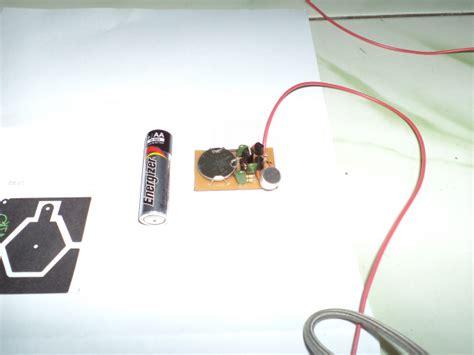 Baterai Mic elektronika analog wireless microphone v2