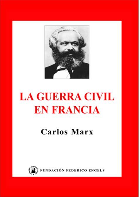 la guerra civil contada 8420482838 marx karl la guerra civil en francia