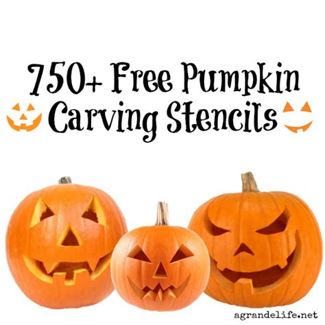 750 Free Pumpkin Carving Stencils Pumpkin Carving Templates