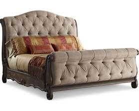 casa veneto upholstered sleigh bed thomasville furniture