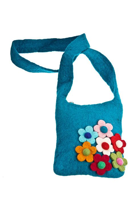 Handmade Felt Bags - handmade felt children s secret garden bag by felt so